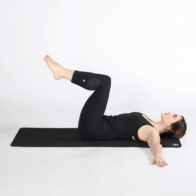 Watch and share 1727-How_To_Fart_Wind-400x400-Two_Knee_Spinal_Twist_Pose GIFs by Healthline on Gfycat