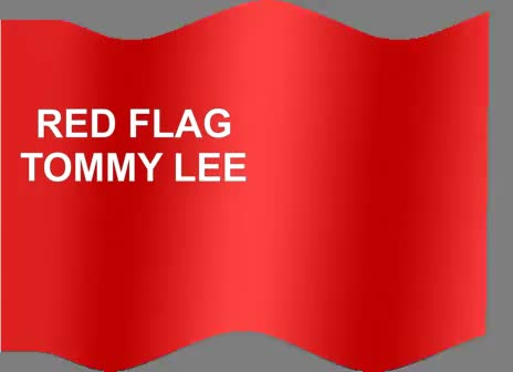Watch and share Red Flag Tommy Lee GIFs on Gfycat