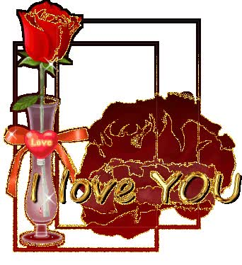 Watch and share Love You Rose Glitter Animated Graphics - Clipart Library - Clipart Library animated stickers on Gfycat