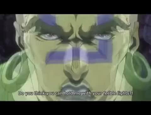 Watch and share JJBA The Pillar Men Awaken (Full Scene) GIFs on Gfycat