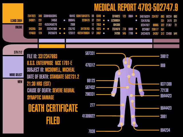 Watch Medical Report GIF by @chaosoverfiend on Gfycat. Discover more Star Trek GIFs on Gfycat