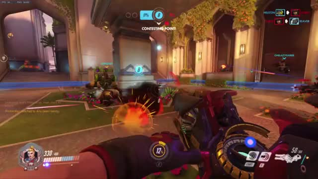 Watch and share Reaper Went Bye Bye GIFs and Overwatch GIFs by artemis8219 on Gfycat