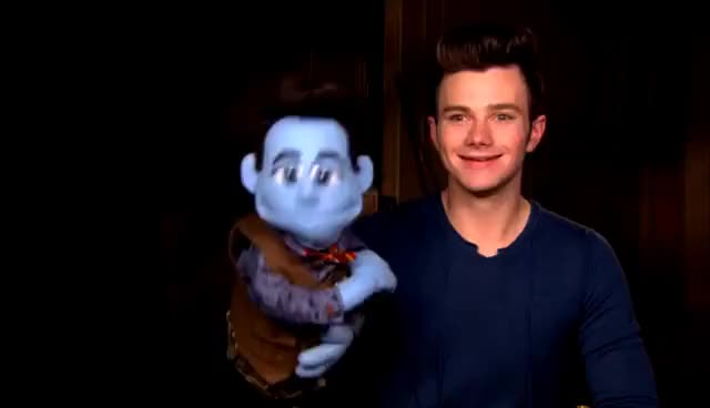 Watch and share Chris Colfer GIFs on Gfycat