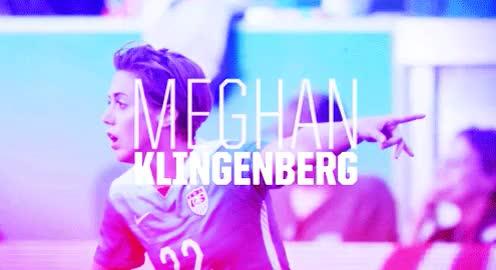 Watch and share Meghan Klingenberg GIFs and Becky Sauerbrunn GIFs on Gfycat