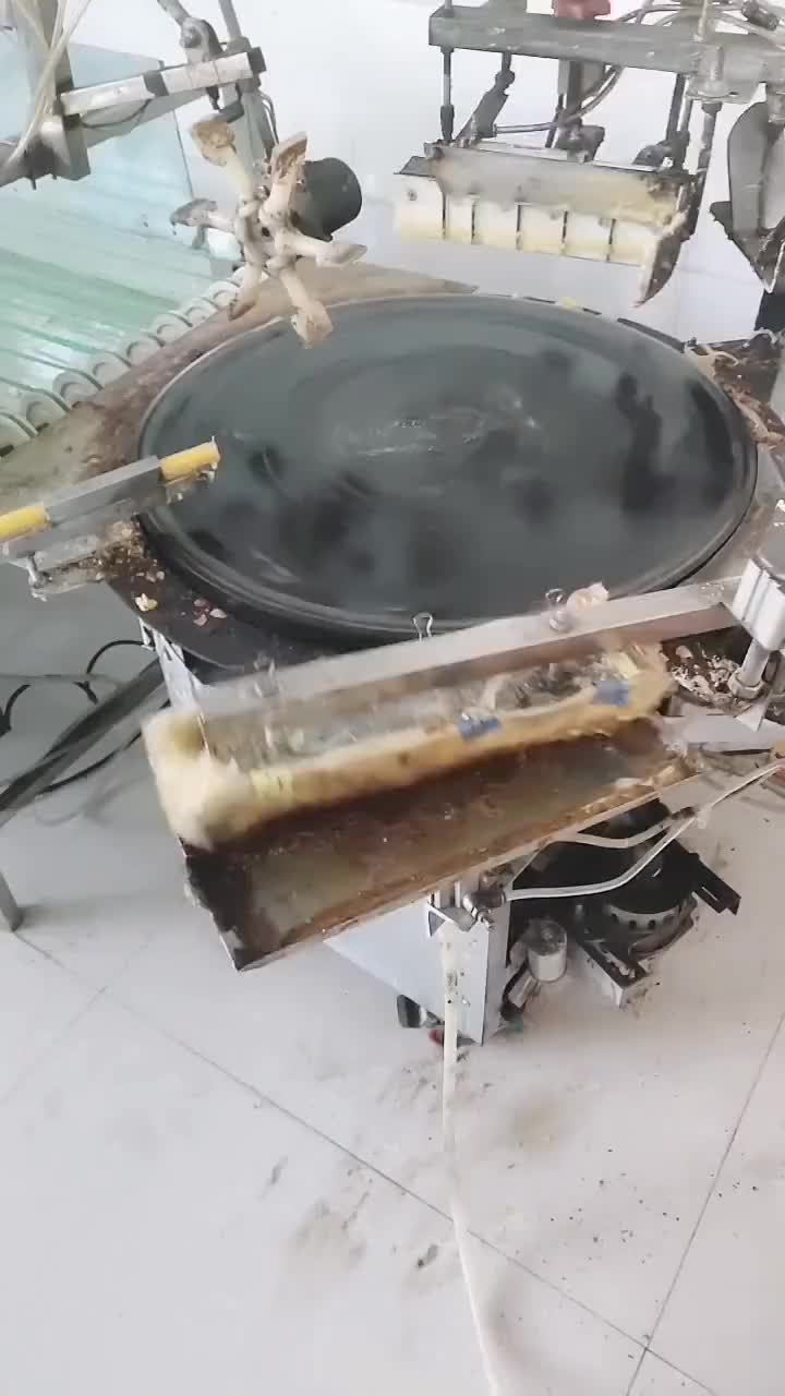Pancake making machine GIFs