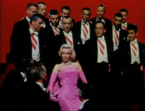 Watch Diamonds are a Girl's Best Friend GIF on Gfycat. Discover more Gentlemen Prefer Blondes, Marilyn Monroe GIFs on Gfycat
