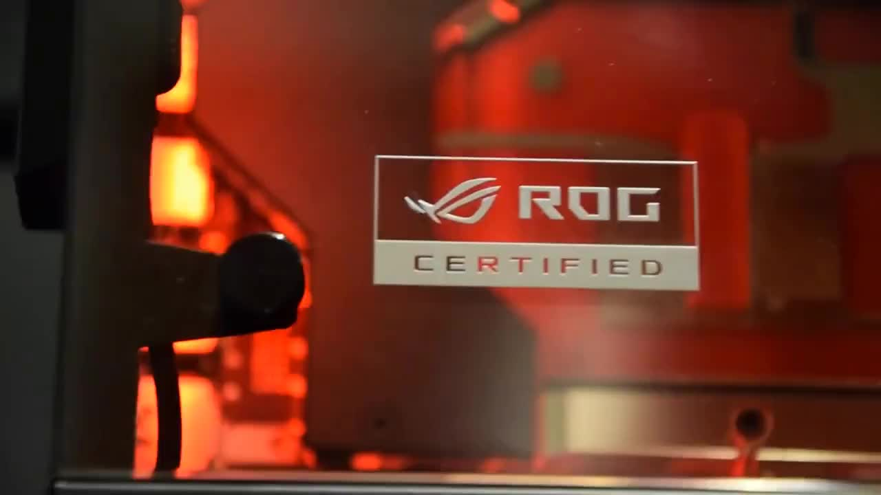 ROGNAROK - X299 Gaming Monster - Watercooled SLI Gaming RIG Build Log & Reveal GIFs