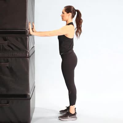 Watch and share 400x400 Perfecting Pushups Basic Wall Pushup GIFs on Gfycat