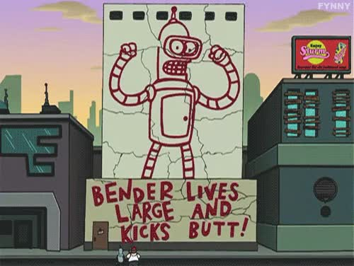 Watch and share Television GIFs and Futurama GIFs on Gfycat