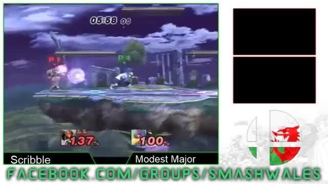 Scribble (Samus) Vs Modest Major (Falco) Final Destination 11 Project M Losers Semi's (reddit)