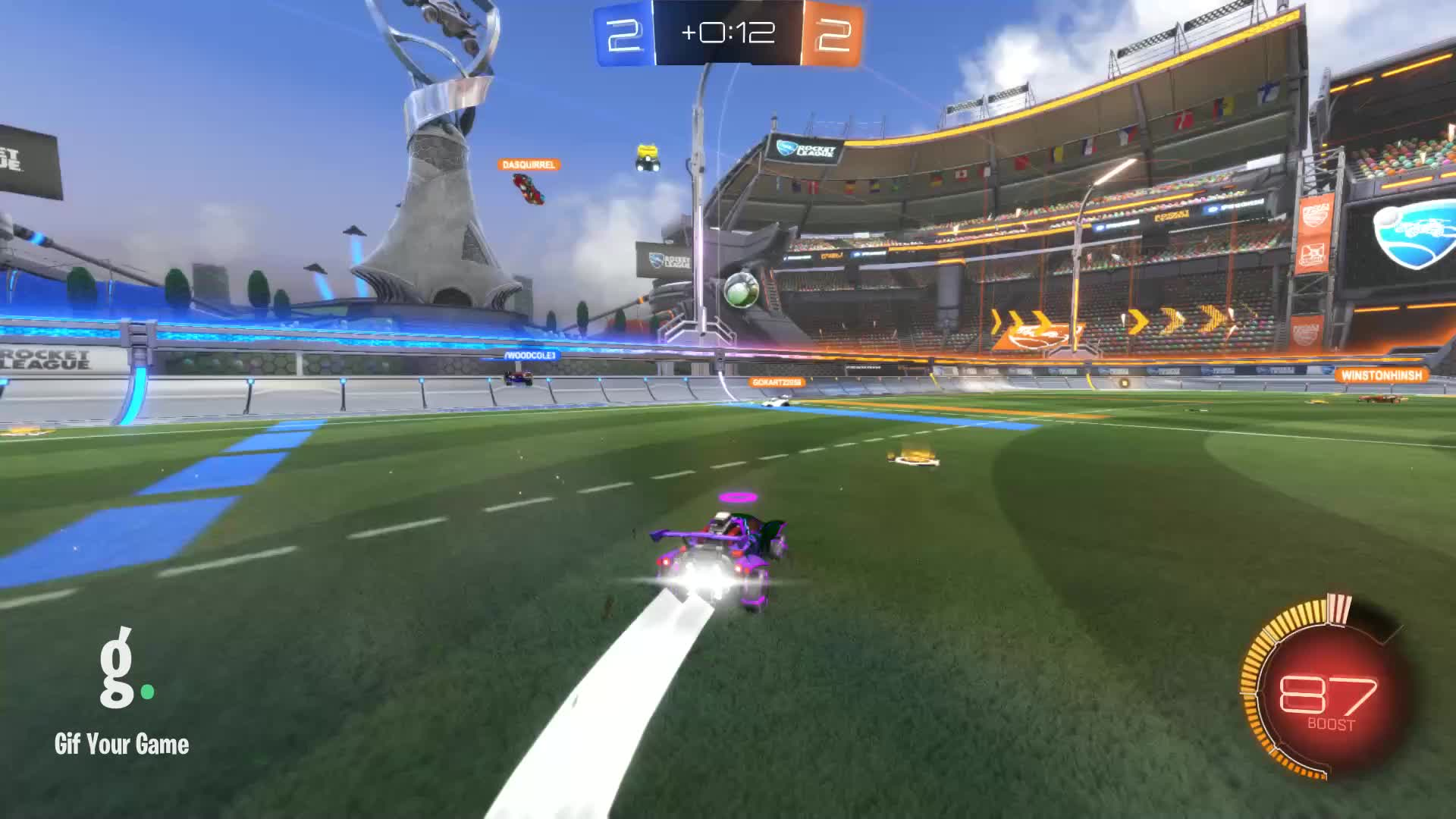 Gif Your Game, GifYourGame, Goal, Rocket League, RocketLeague, Twitch.Sa1ty, Goal 5: Twitch.Sa1ty GIFs