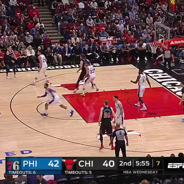 Watch and share Philadelphia 76ers GIFs and Chicago Bulls GIFs on Gfycat