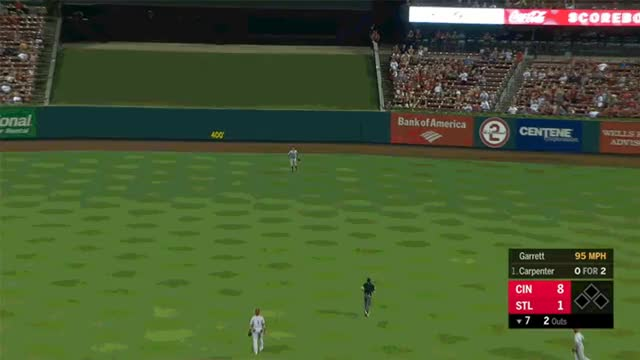 Watch and share Cincinnati Reds GIFs and Baseball GIFs by Pitcher Giffer on Gfycat