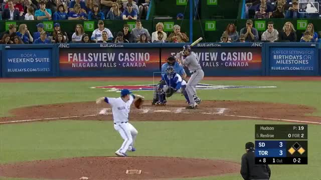 Watch and share Toronto Blue Jays GIFs and San Diego Padres GIFs on Gfycat