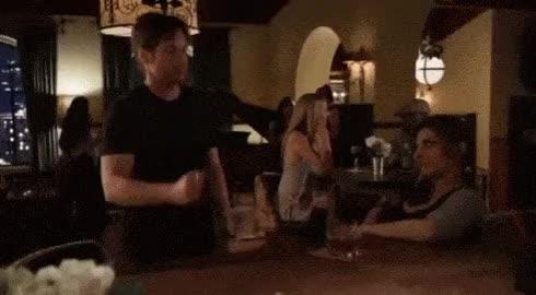 Hank Moody Bar Trick