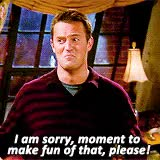 Watch and share Joey Tribbiani GIFs and Chandler Bing GIFs on Gfycat