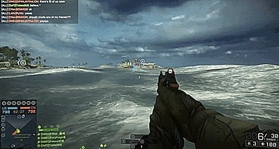 battlefield, battlefield 4, easter egg, gif, megalodon, shark, Running with Helicopters GIFs