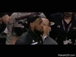 """Watch and share LeBron James' Hairline Evolution """"Going Home"""" GIFs on Gfycat"""