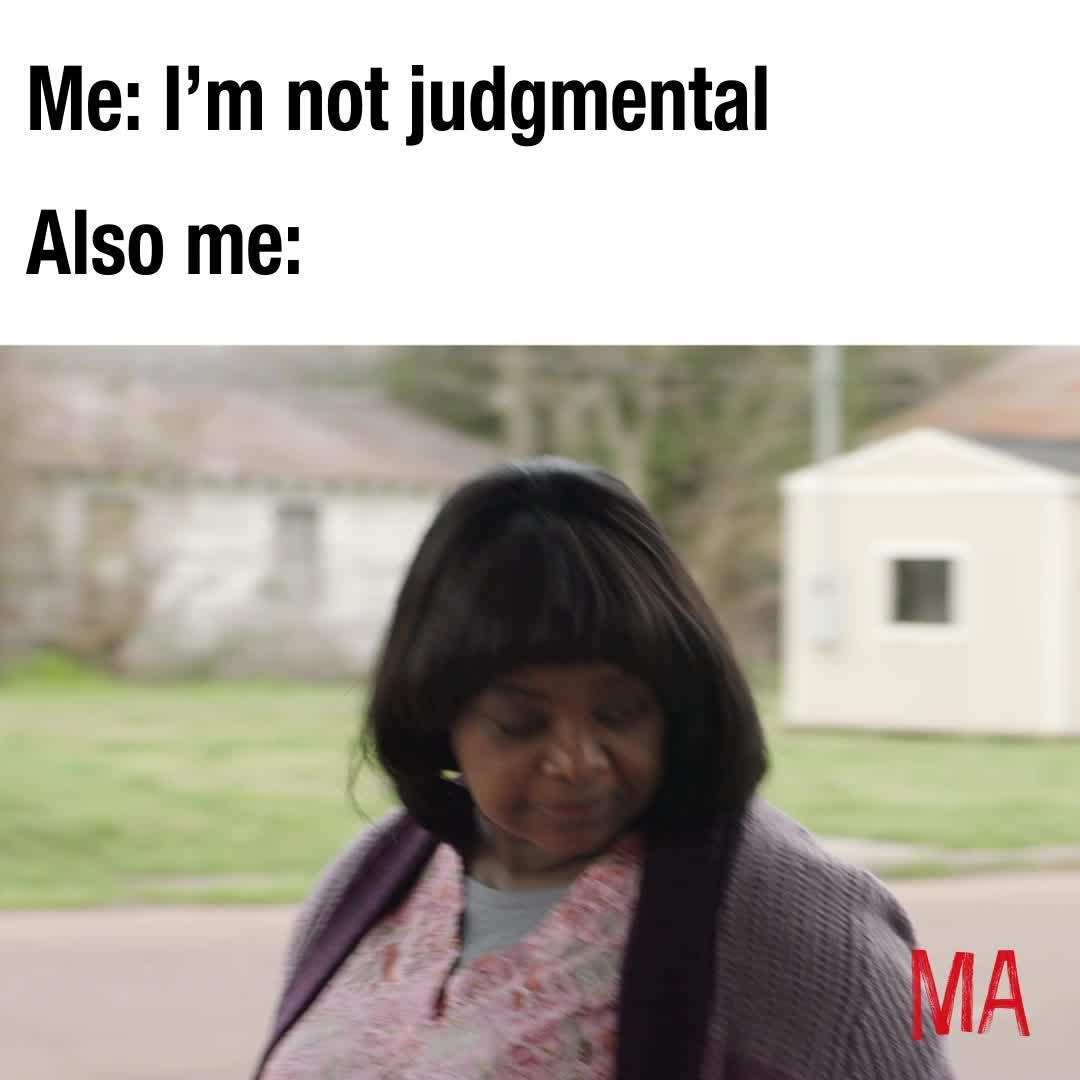 funny, ma, ma movie, meme, octavia spencer, MA Judgmental Meme GIFs