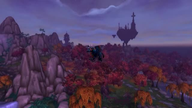 Watch Such grace, such beauty GIF on Gfycat. Discover more flight path, world of warcraft, wow GIFs on Gfycat