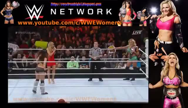 Watch Charlotte c VS  Brie Bella   WWE Fastlane 2016 GIF on Gfycat. Discover more related GIFs on Gfycat