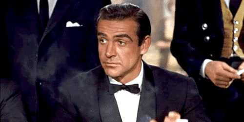Watch and share Sean Connery GIFs and James Bond GIFs on Gfycat
