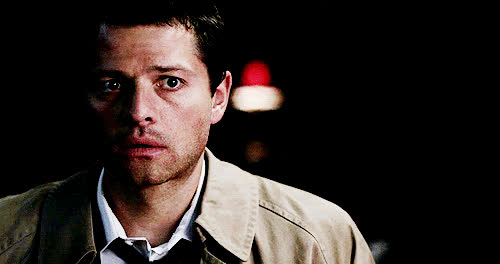 Misha Collins, Nervous GIFs