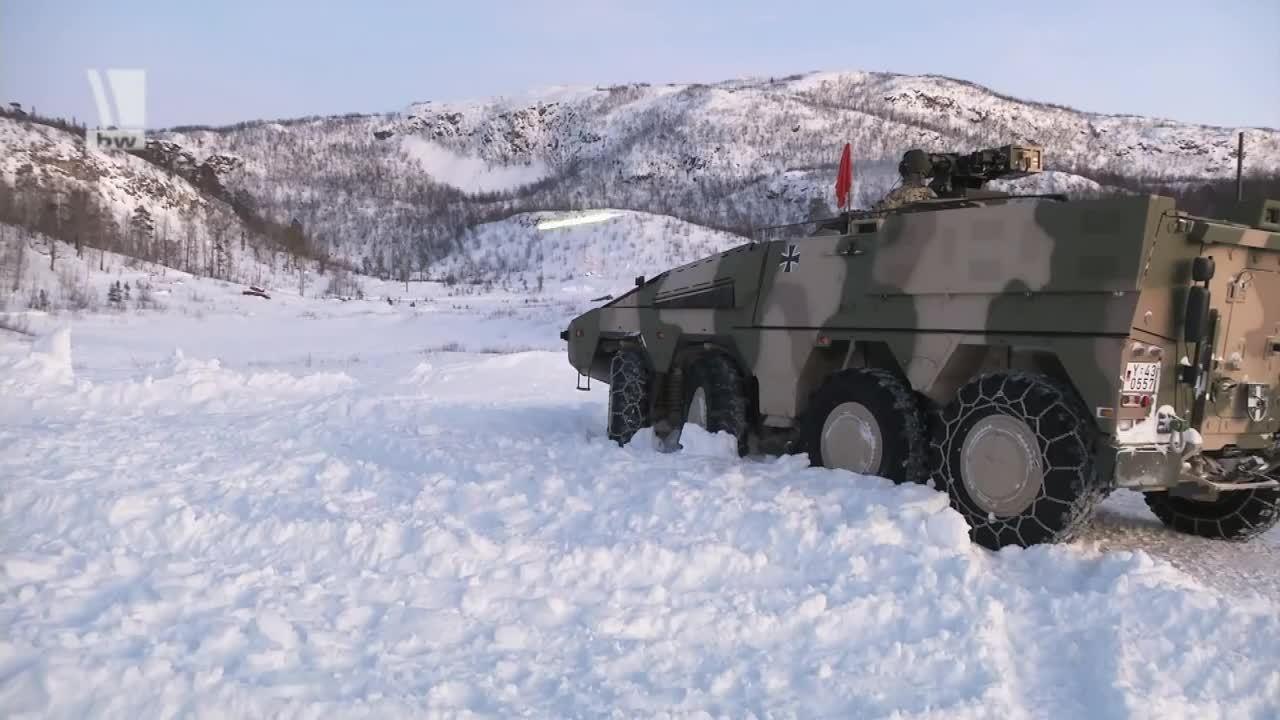 MilitaryGfys, militarygfys, Bundeswehr GTK Boxer firing blues. (reddit) GIFs