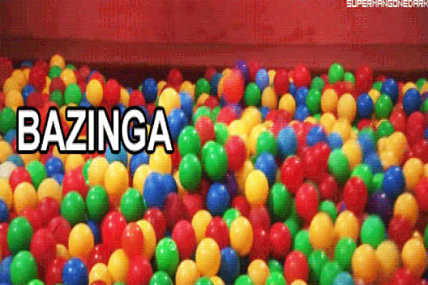 """Bazinga"" originated from pranks. GIFs"