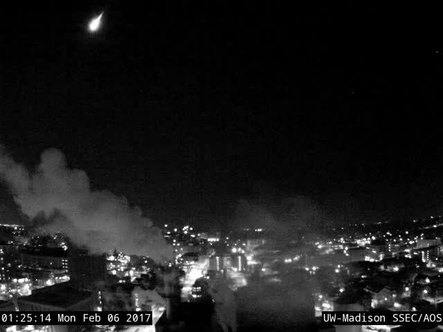 Meteor Over University Of Wisconsin-Madison GIF by Popular Science