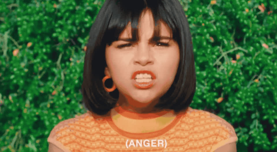 anger, angry, annoyed, back, cute, cutie, fight, furious, gomez, hormonal, irritated, mad, off, pissed, pms, selena, sweet, to, upset, you, Selena Gomez - Back to you GIFs