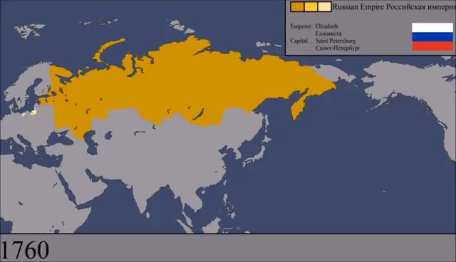 Watch and share The History Of Russia: Every Year GIFs on Gfycat