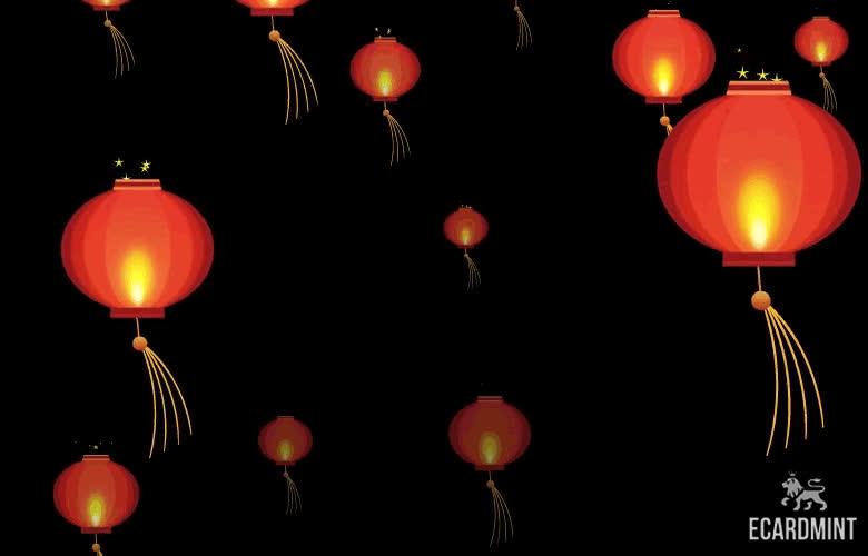 chinese, chinese lanterns, chinese new year, holiday, holidays, lunar new year, Chinese Lanterns GIFs
