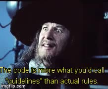 "Watch and share More What You'd Call ""guidelines"" Than Actual Rules GIFs on Gfycat"