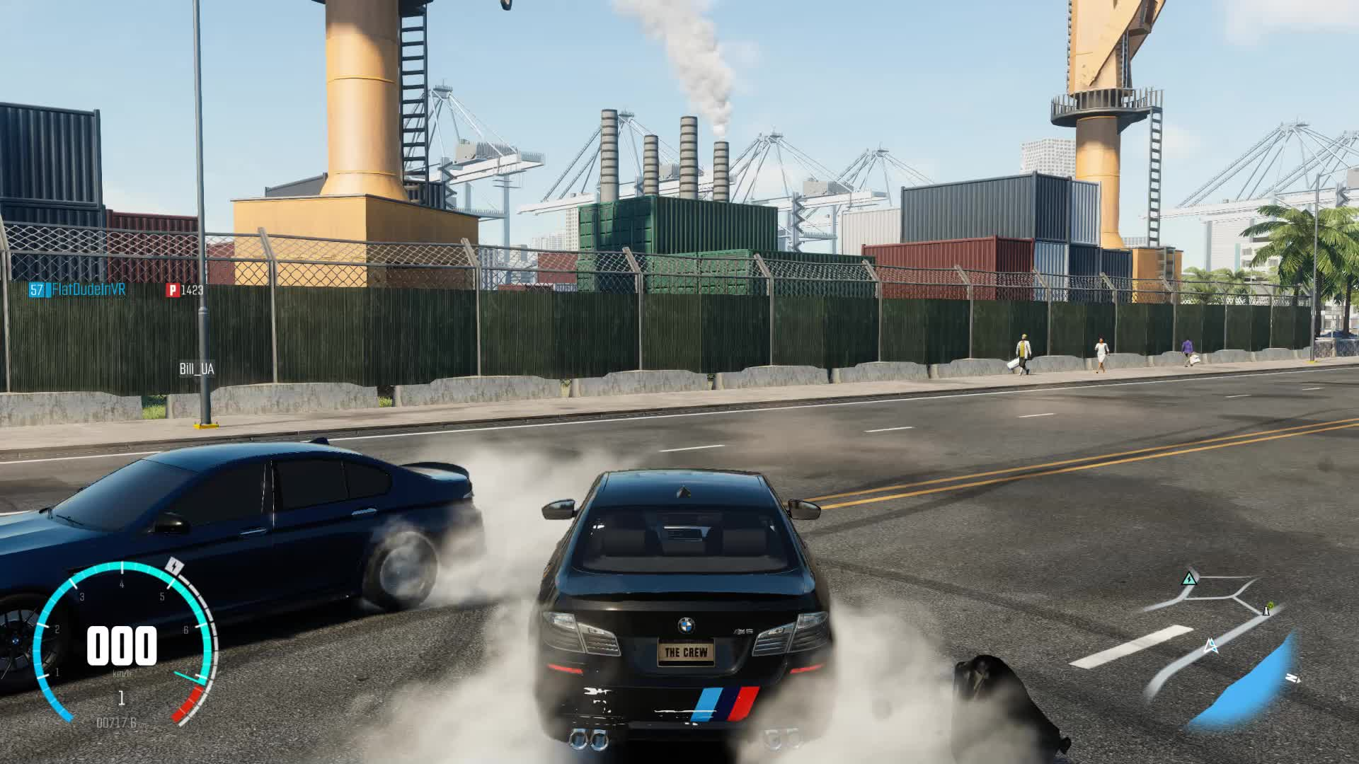 gamephysics, [The Crew] Free parking GIFs