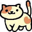 nekoatsume, Peaches infinite walk GIFs