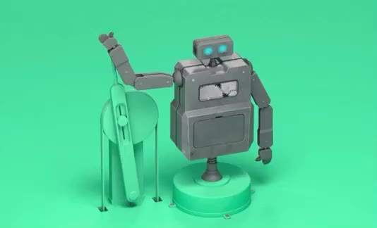 Watch this bye GIF by ioanna on Gfycat. Discover more bye, robot, wave GIFs on Gfycat