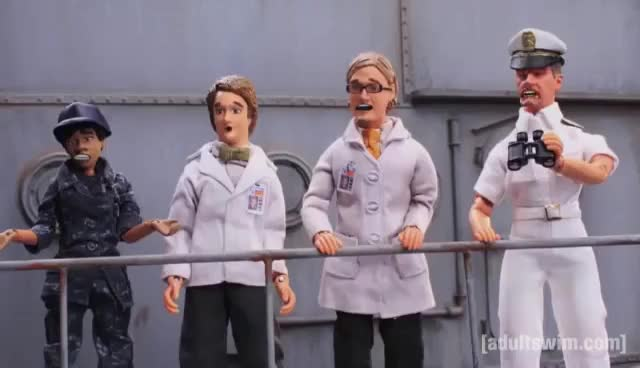 Watch and share Battlehump | Robot Chicken | Adult Swim GIFs on Gfycat