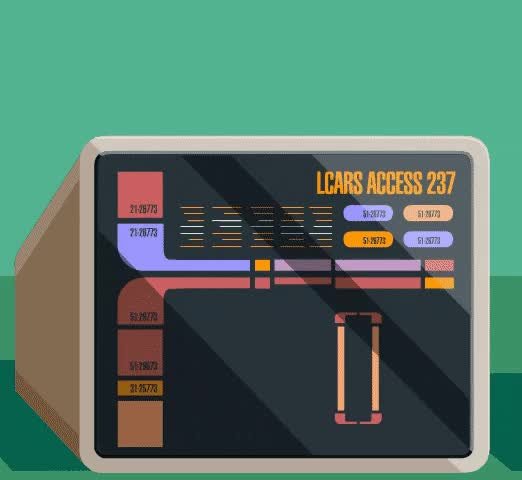 Watch and share Star Trek Computer GIFs and Lcars GIFs by Star Trek gifs on Gfycat