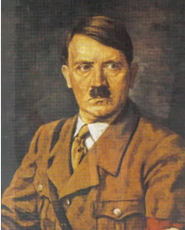 Watch and share Portrait Of Adolf Hitler Adolf Hitler Became Leader Of The animated stickers on Gfycat