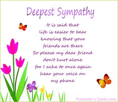 Watch and share Deepest Sympathy Cards Message Has Flowers, Slightly Animated ... GIFs on Gfycat