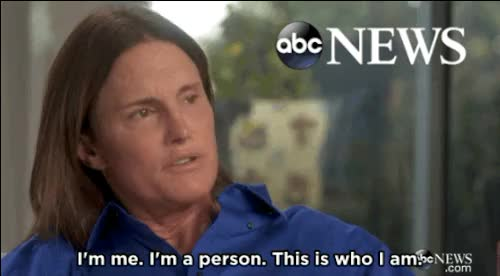 Watch and share Bruce Jenner GIFs and Trans Rights GIFs on Gfycat
