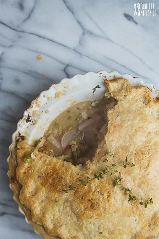 Watch Spring Vegetable Chicken Pot Pie #recipe GIF on Gfycat. Discover more related GIFs on Gfycat