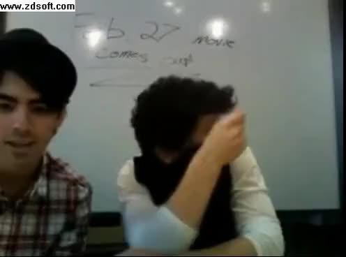 Watch Nick Jonas GIF on Gfycat. Discover more nick jonas twitter laugh ustream GIFs on Gfycat