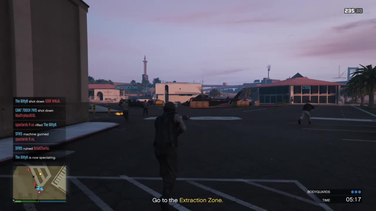 grandtheftautov, the LZ is too hot GIFs