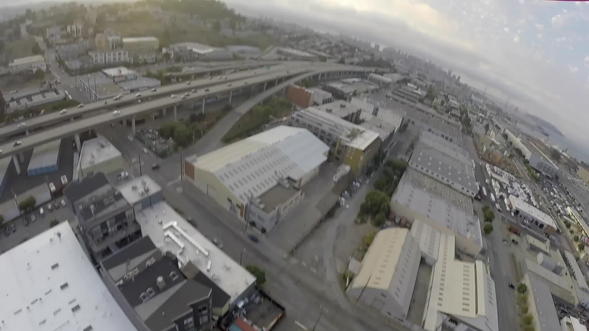 dogpatch, drone, drone footage, drones, san francisco, Drone footage from San Francisco in Dogpatch #2 GIFs