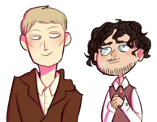 Watch and share Dr Hannibal Lecter GIFs and Nonii's Art GIFs on Gfycat