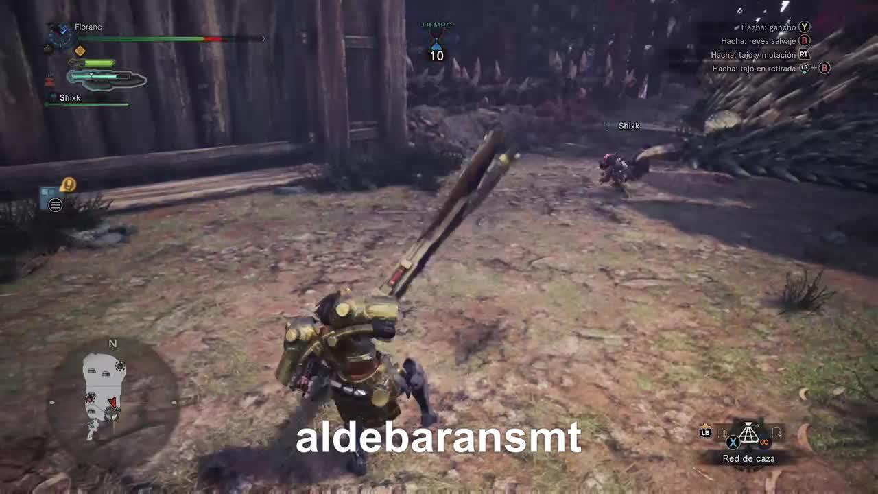 AldebaranSMT, MONSTERHUNTERWORLD, gamer dvr, xbox, xbox one, Double KO GIFs