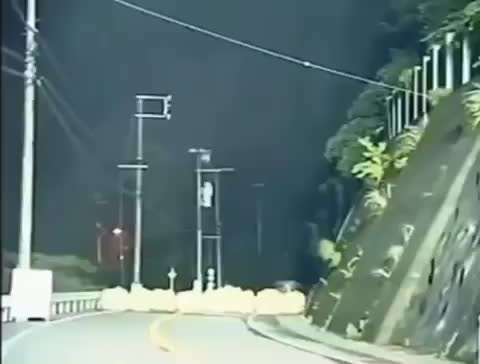 Watch Why did the mountain cross the road? - Follow @total_science for more awesome content! - GIF by @sezar4321 on Gfycat. Discover more dashcam, mountain, mudslide, nature, science, total science, totalscience GIFs on Gfycat