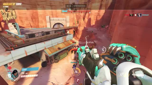 Watch ftw  GIF by Sohvi  (@sohvi_) on Gfycat. Discover more highlight, overwatch, pharah GIFs on Gfycat